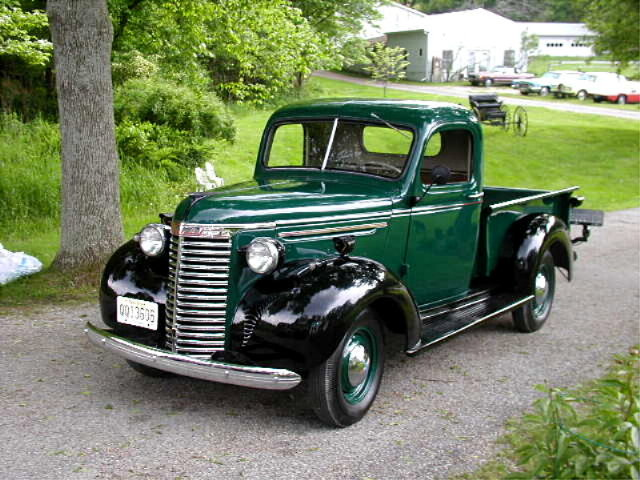 1940 Chevrolet Half-Ton Pick Up Truck - Collection - Andys ...