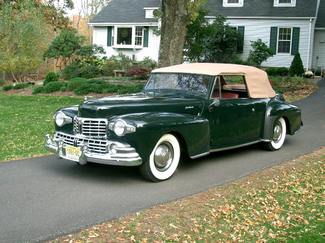 1946 Lincoln Continental on Lincoln Classic Cars Image
